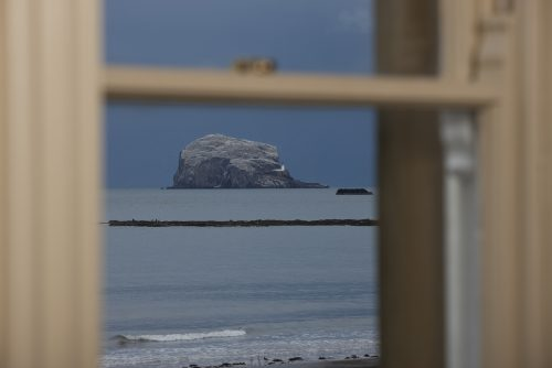 North Berwick Sea view from living room window