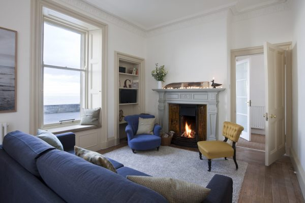 Living room in North Berwick Holiday Home